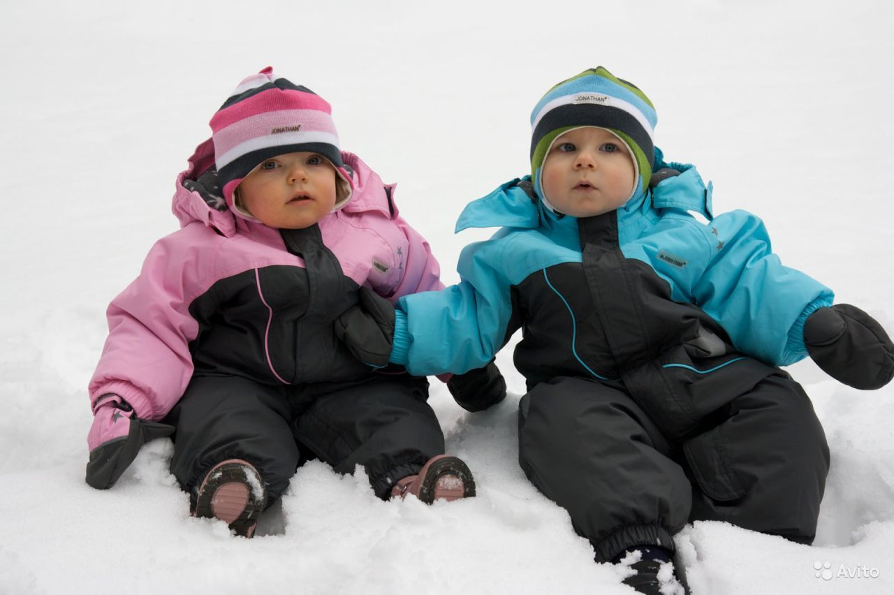 Ребенок в зимней куртке фото