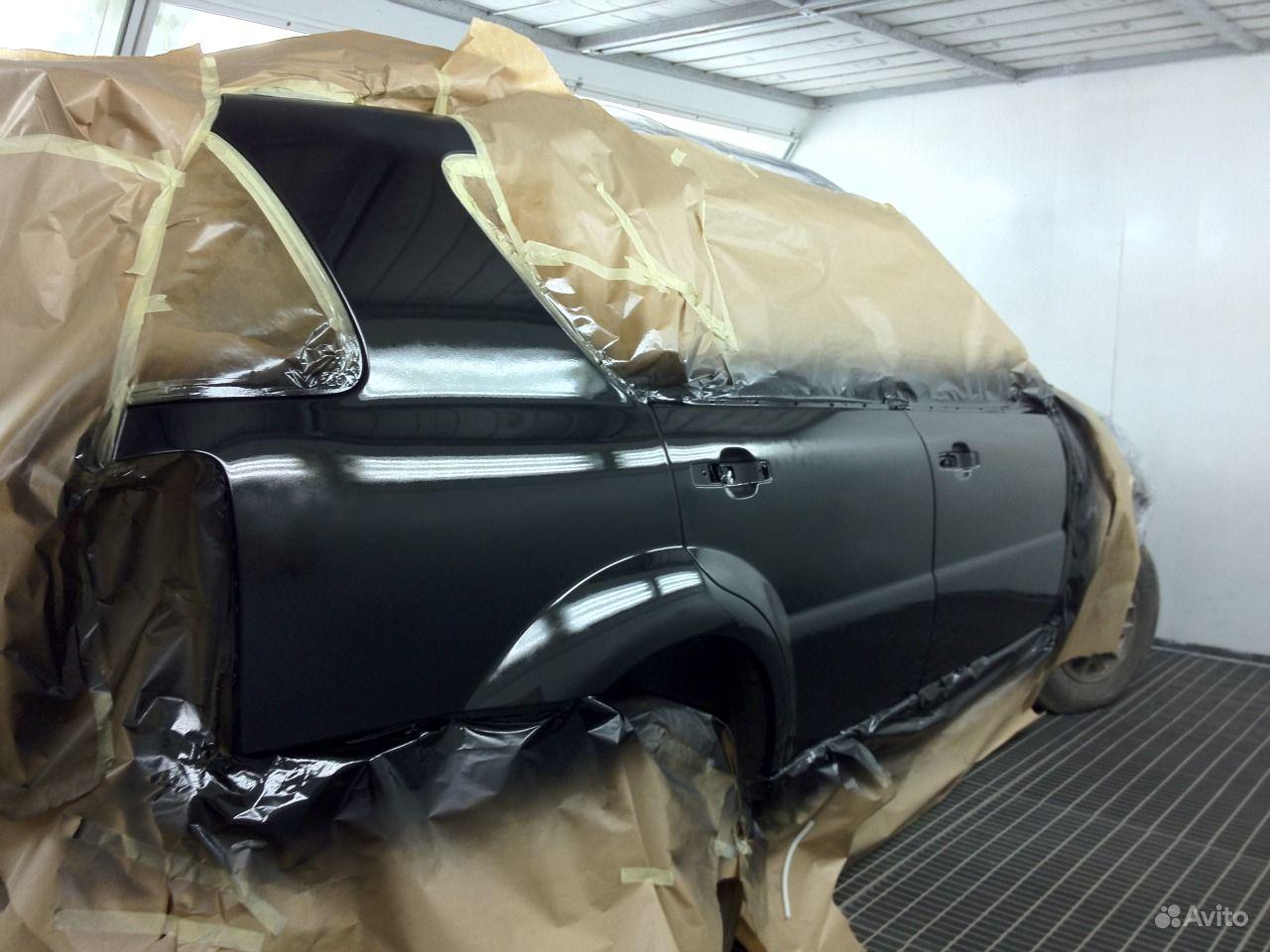 Покраска пластиковых деталей автомобиля в