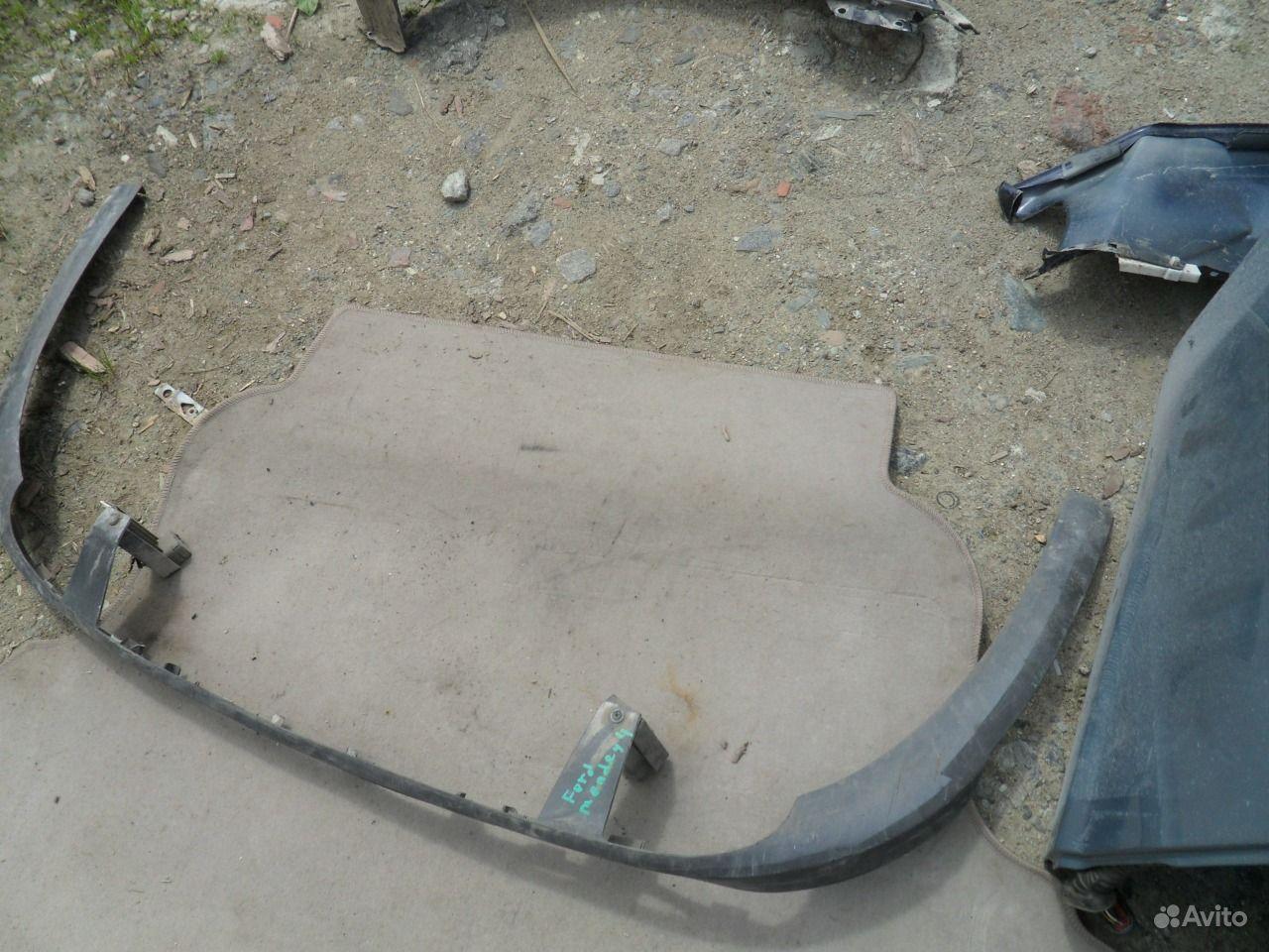 Юбка переднего бампера ford mondeo 3 12 фотография