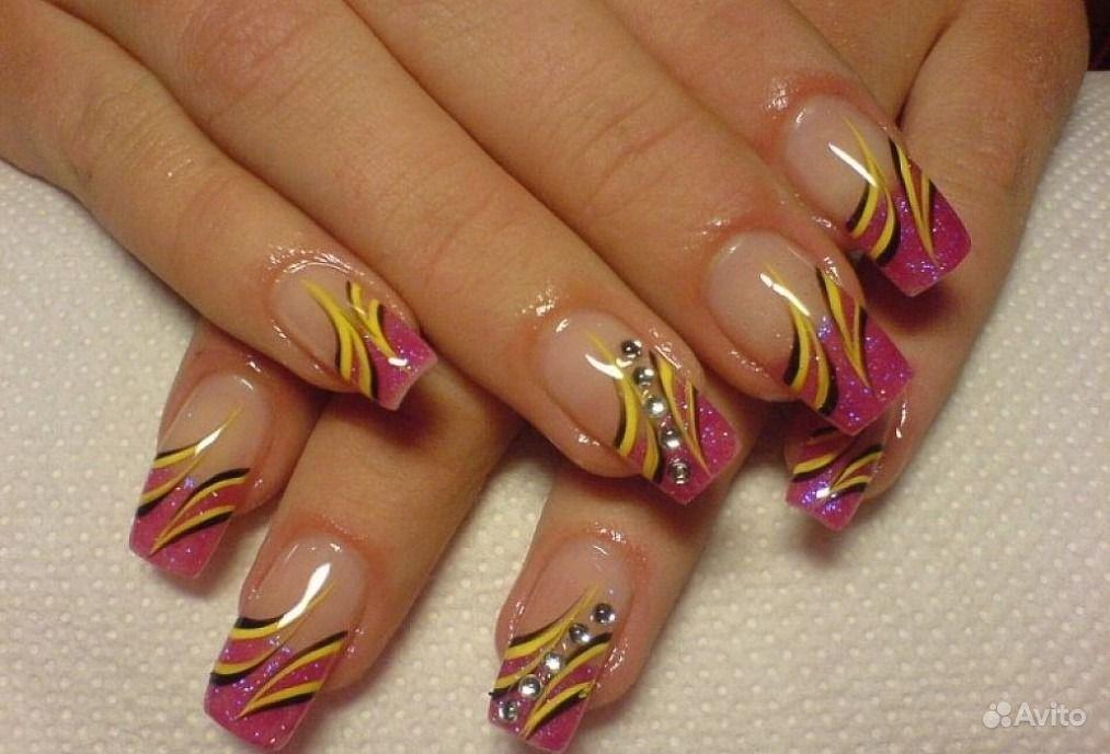 Фото дизайн на гелевых ногтях
