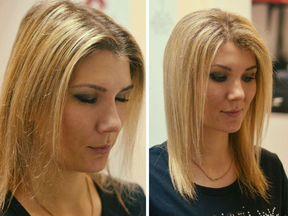Как сделать объём на тонких волосах фото