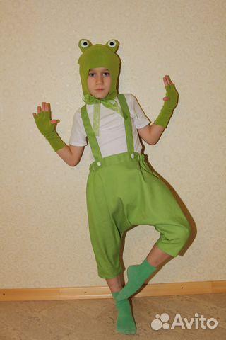 Костюм лягушки для мальчика своими руками мастер класс