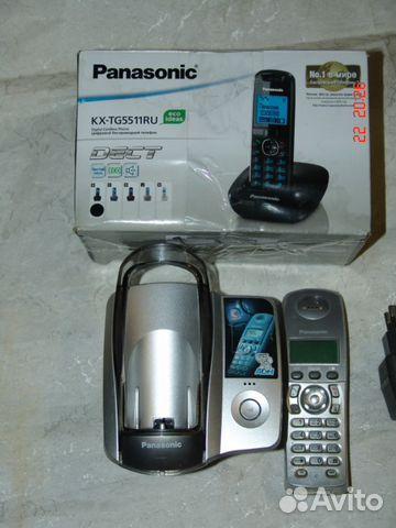 Panasonic kx-tcd215ruf, вид спереди