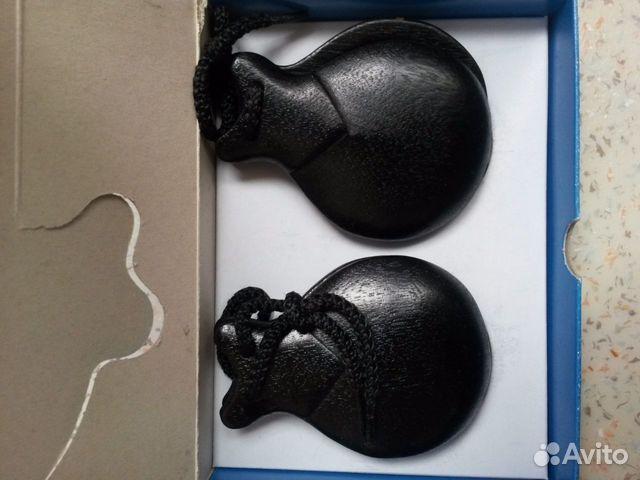 Кастаньеты jale новые. Черные и коричневые 89930203243 купить 1