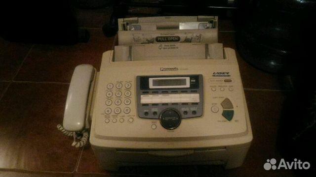 Лазерный факс panasonic kx-flm653