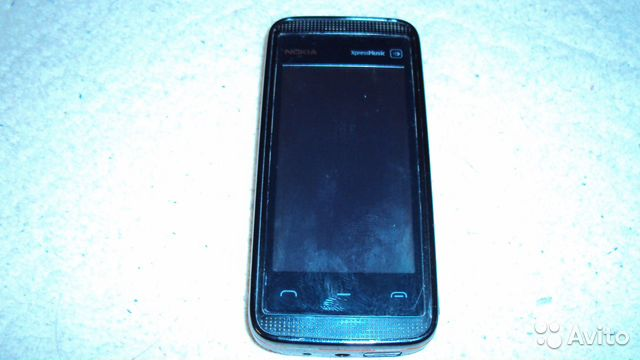 Nokia 5530 XpressMusic black red на запчасти