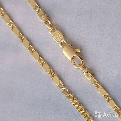 Золотые цепи модного плетения