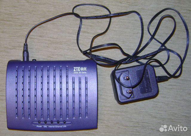 Продаю ADSL-модем (роутер) Zte zxdsl 831 в отличном состоянии. Использовал