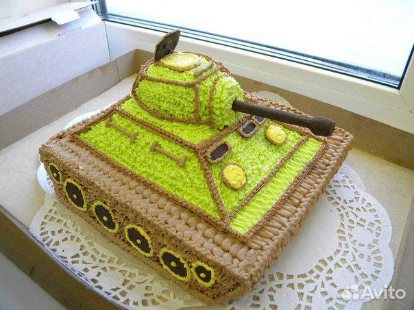 Торт танк своими руками рецепт с фото без мастики 87