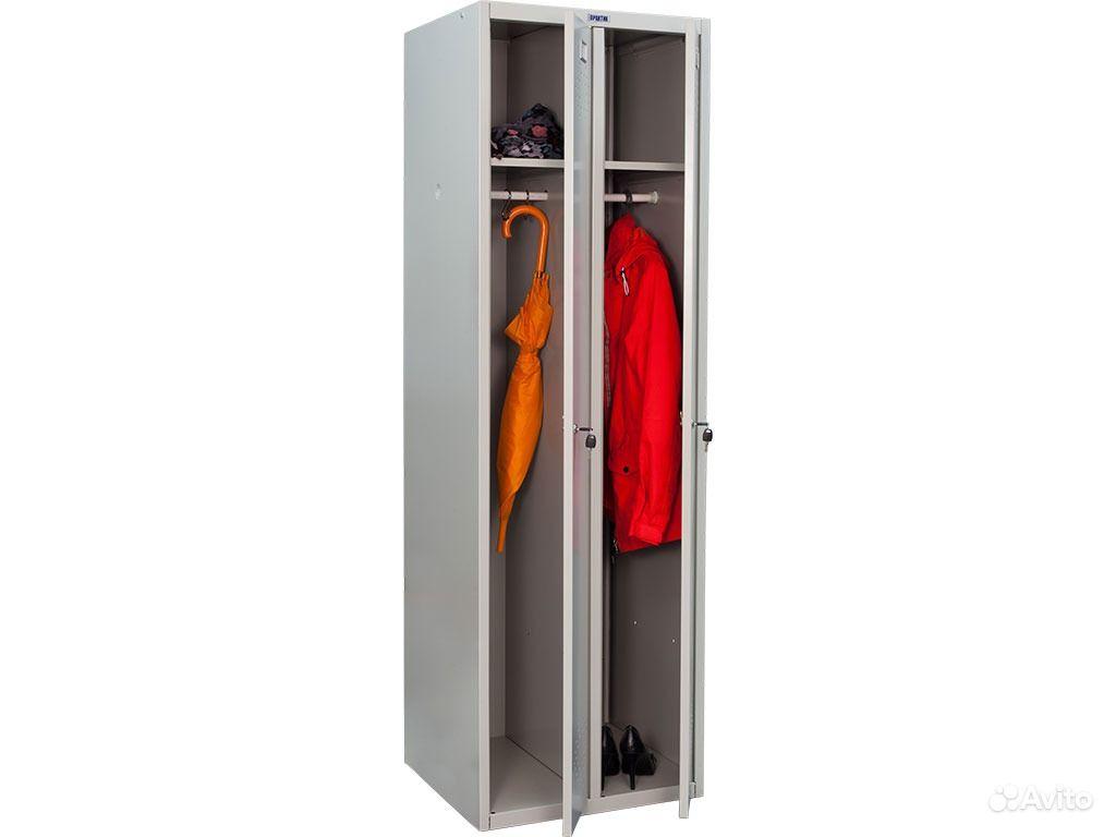 Шкаф для одежды ПРАКТИК LS(LE)-21-8 - Железная