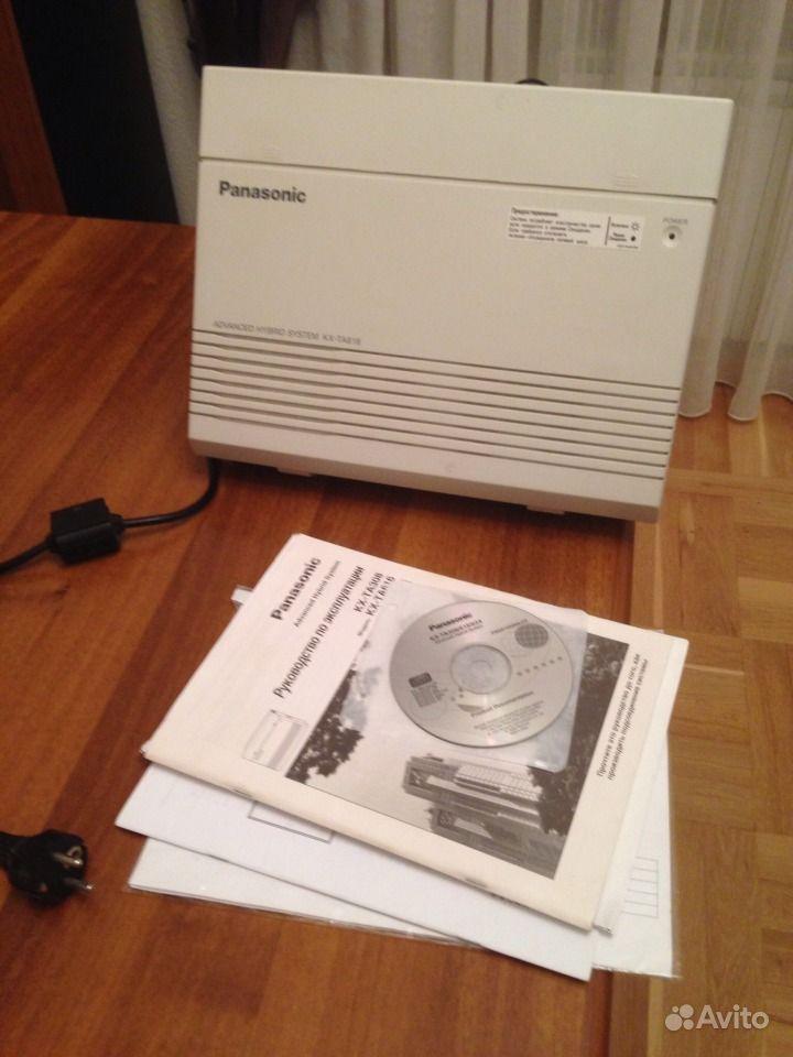 Мини атс Panasonic KX- TA616