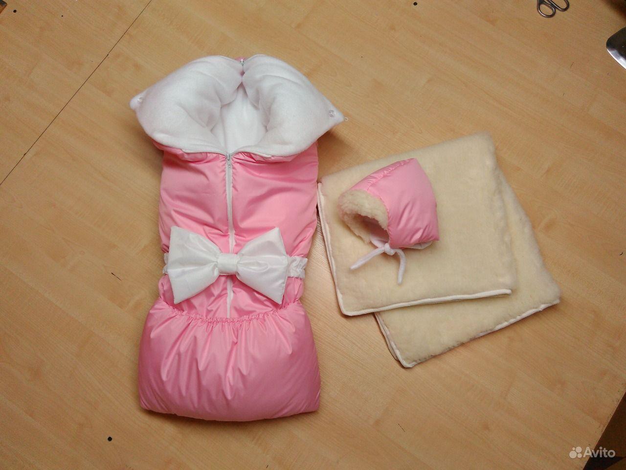 Шью конверт для новорожденного
