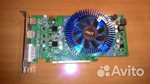 Видеокарта palit nvidia GeForce 8800 GT 512 MB