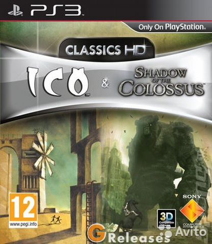 Ico Shadow of Colossus (Classics HD) ps3— фотография №1