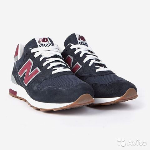 Кроссовки New Balance M 1400 CU Made in USA— фотография №1