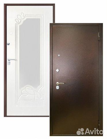 двери стальные входные металлические пр