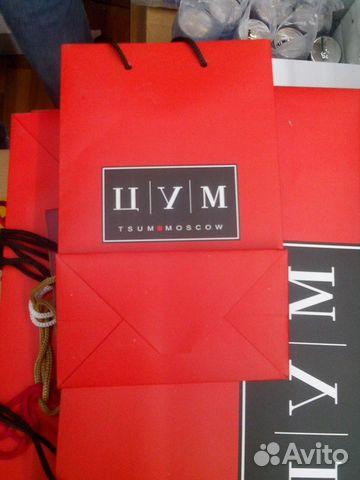 bd93ec417e86 Пакеты бумажные цум новые большой и маленький купить в Москве на ...