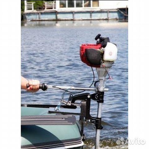 двигатели на лодку с косилок