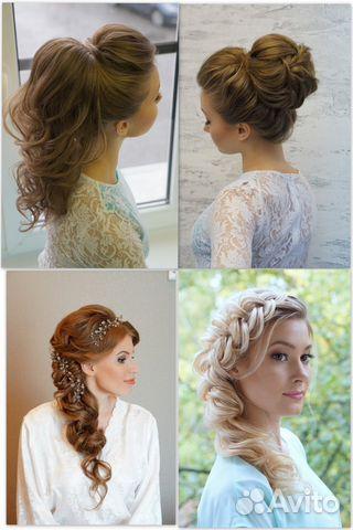 Причёска макияж на свадьбу