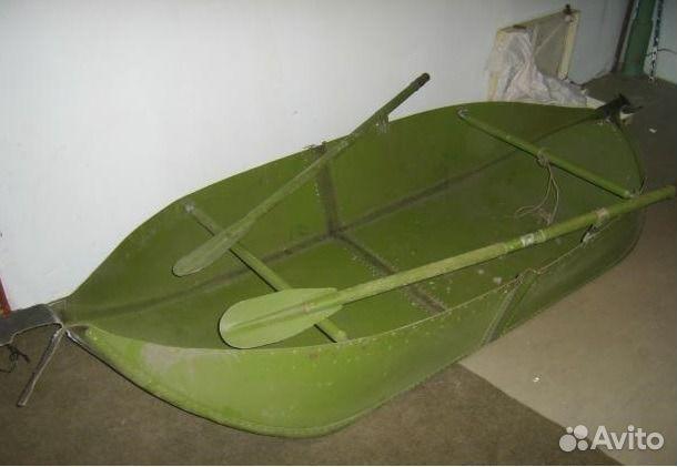 купить одноместную складную дюралевую лодку