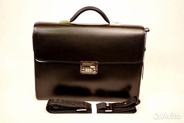 bca2f5df8bbc Мужские сумки портфели из натуральной кожи купить в Москве на Avito ...