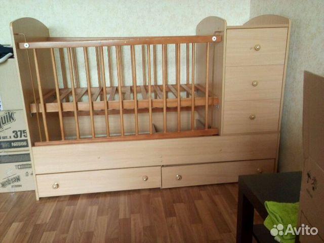 Детскую кровать   бу