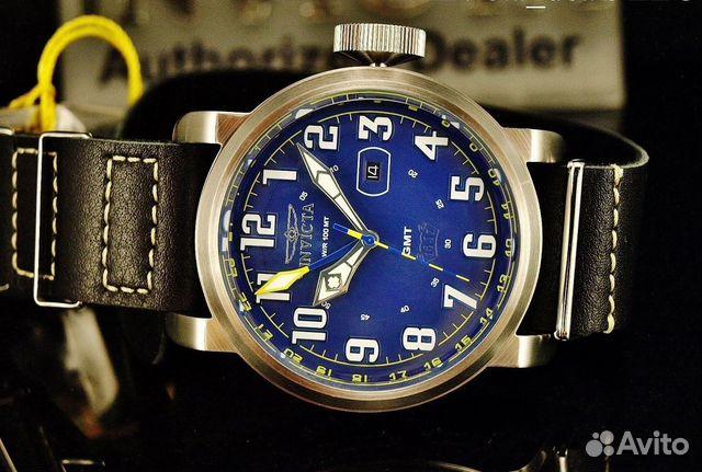 9a8565623c42 Швейцарские часы Invicta Aviator GMT 18887 купить в Москве на Avito ...