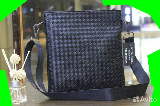 359719522 Кожаная сумка через Bottega Veneta новая. Мужская | Festima.Ru ...