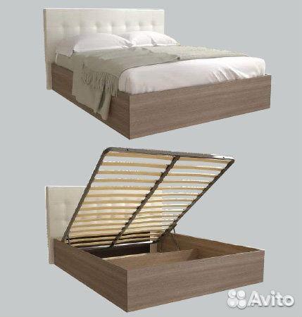 801bfd67b2b41 Кровать с подъемным механизмом купить в Санкт-Петербурге на Avito ...