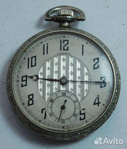 Старинные карманные часы admiral купить в Ингушетии на avito GD76