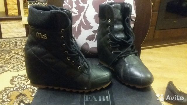 Ботинки кожа р.40