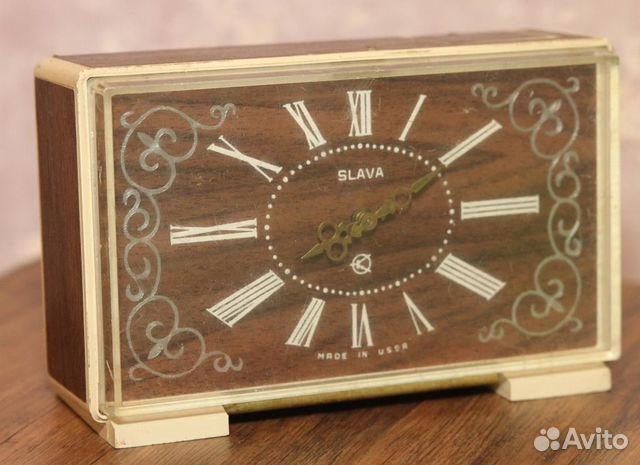 Купить настольные часы слава ссср купить камеру часы