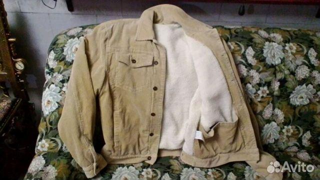 Куртка вельветовая на меху 89372217858 купить 2