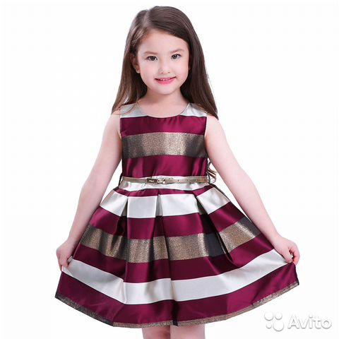 49517ef21a2 Элегантное Праздничное платье для девочки 4 5 лет купить в Москве на ...