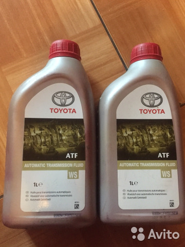 масло atf ws toyota