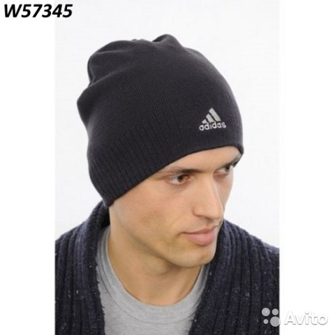 new arrival e6dee 65630 Adidas ESS corp beanie шапочка W57345