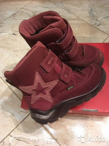 Зимние ботинки Экко Ecco со звездами. В идеале   Festima.Ru ... 6c14d2d297b