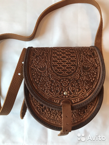 7ad4a08b4b74 Кожаная сумка ручной работы   Festima.Ru - Мониторинг объявлений