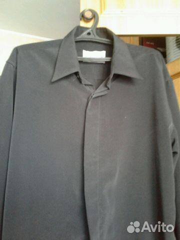69bff720995 Мужская черная рубашка -сорочка купить в Республике Коми на Avito ...