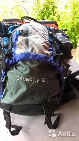 Рюкзак creeper Capaciti 60L 89185433499 купить 3