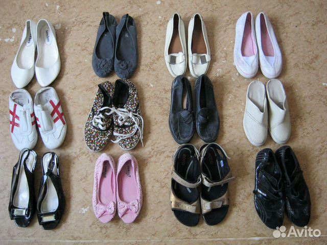9957b82cc9fa 12 пар женской обуви без каблуков купить в Санкт-Петербурге на Avito ...