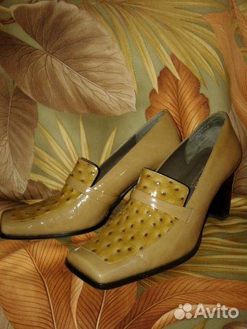 Туфли лаковые винтажные