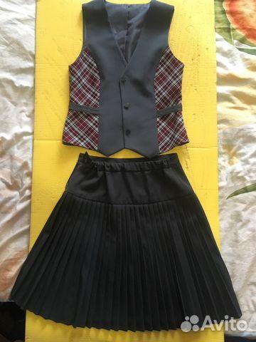 977a470cc29 Школьная форма для девочки 12-14 лет купить в Омской области на ...