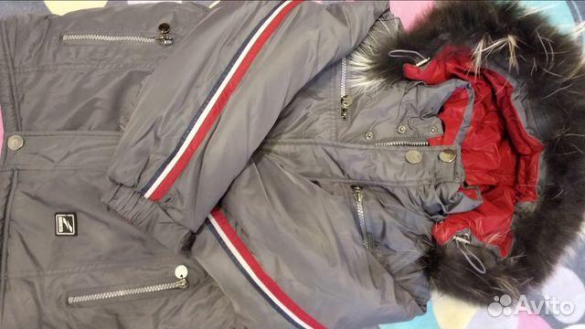 Зимняя куртка, рост 134  89024781634 купить 3