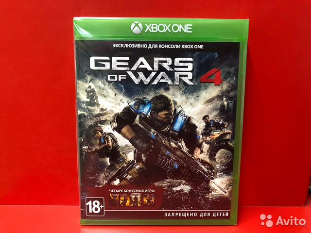 Gears of War 4. xbox one