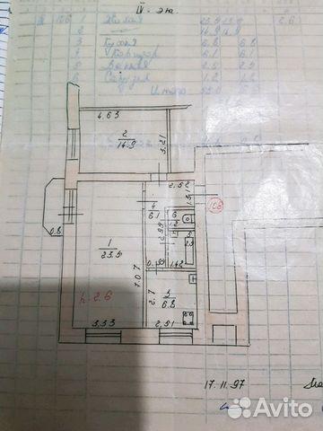 Продается двухкомнатная квартира за 2 600 000 рублей. Республика Мордовия, Севастопольская улица.