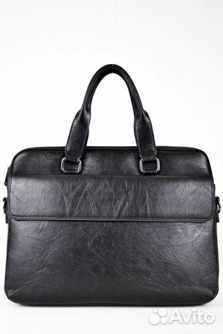 e07d1508bae3 Мужская кожаная сумка для документов, черная купить в Санкт ...
