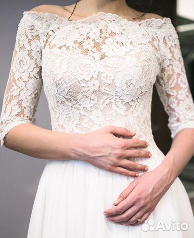 2e51b04ffab Свадебное платье (айвори