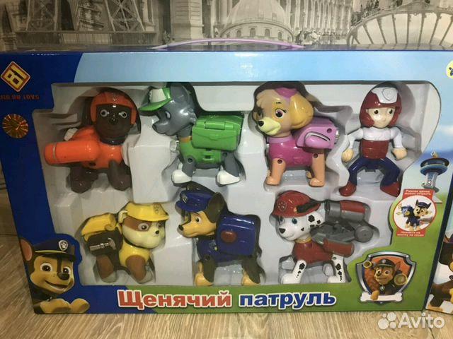 База щенячий патруль игрушки купить в перми