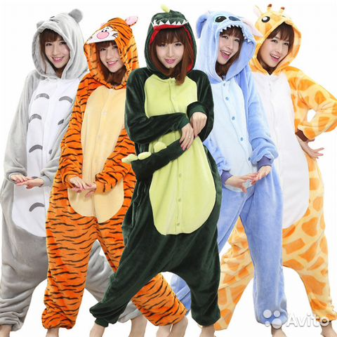 Пижамы кигуруми в ассортименте  8f6369bca21cf